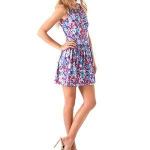 Theory Achi Perplexing Print Dress
